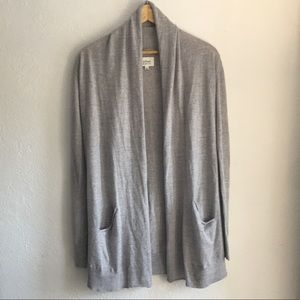 Grey Wilfred wool cardigan